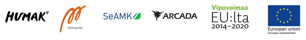 Toteuttajien ja rahoittajan logot